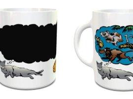 Cat Dreams Color Changing Mug