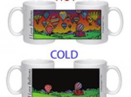 I Love Balloons Color Changing Mug