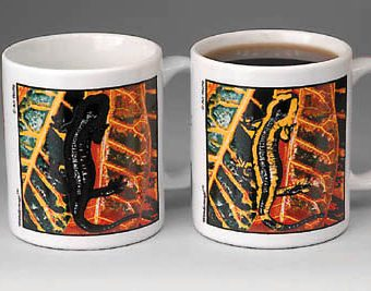 Fire Salamander mug