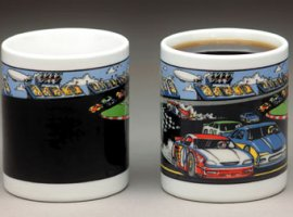 Stock Car Racing Coffee Mug