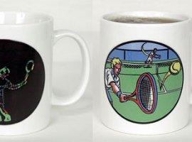 Ace Tennis Male Coffee Mug