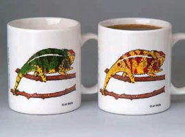 Panther Chameleon Coffee Mug