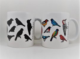 Wild Birds Color Changing Mug